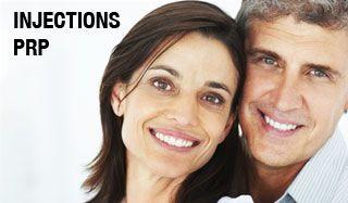 Les injections de plasma et de plaquettes (PRP)