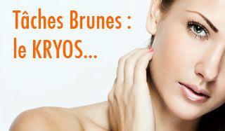 Kryos, une solution efficace contre les taches cutanées